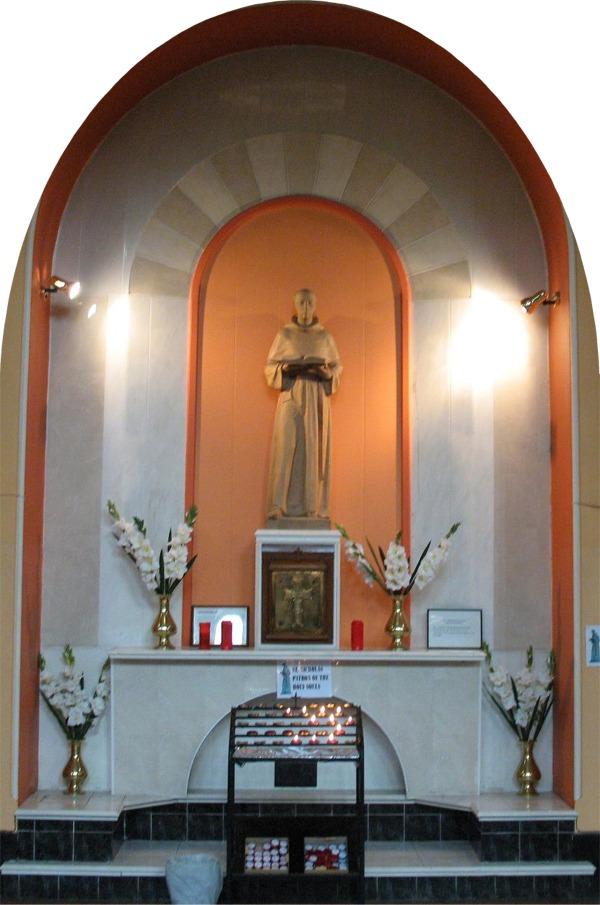 Shrine to St. Nicholas - Augustinian Church Limerick