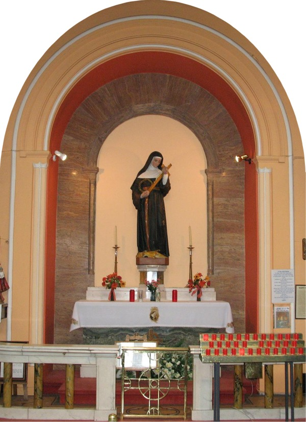 Shrine to St. Rita - Augustinian Church Limerick